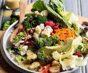 Anti-Oxidant Boosting Salad